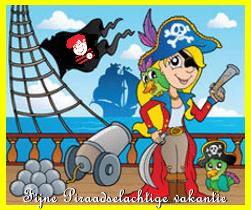 fijn Piraadselachtige vakantie